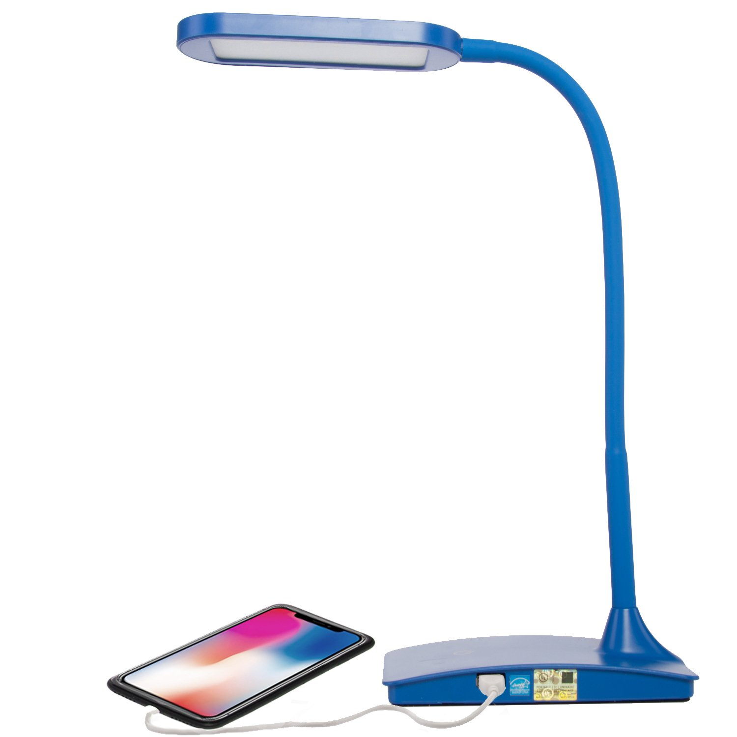 Tw Lighting Ivy 40wt Led Desk Lamp With Usb Port 3 Way
